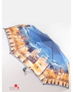 Зонт автомат цвет синий бежевый Zest