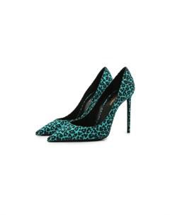 Текстильные туфли Zoe Saint laurent