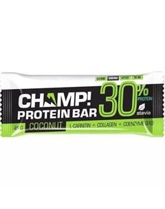 Батончик Champ протеиновый Кокосовый 45 г Champ Леовит