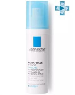 Гидрафаз UV Интенс Риш увлажняющий флюид для лица 50 мл Hydraphase La roche-posay