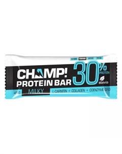 Батончик Champ протеиновый Молочный 45 г Champ Леовит