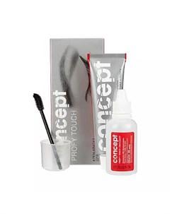 Крем краска для бровей и ресниц Profy Touch Коричневый 30 20 мл Окрашивание Concept