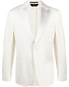 Однобортный пиджак с заостренными лацканами Z zegna