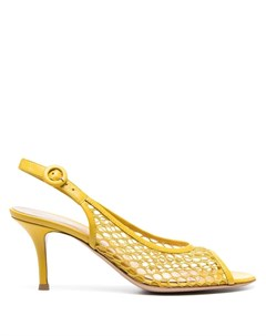 Сетчатые туфли с ремешком на пятке Gianvito rossi