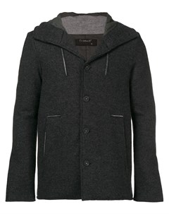 Пальто с капюшоном Transit