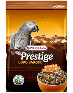 Prestige Premium Loro Parque African Parrot Mix корм для крупных африканский попугаев 15 кг Versele-laga