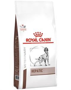 Hepatic Hf16 для взрослых собак при заболеваниях печени 6 6 кг Royal canin