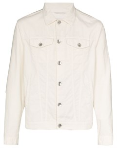 Джинсовая куртка на пуговицах Brunello cucinelli