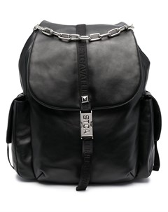 Рюкзак с откидным клапаном и пряжками Just cavalli