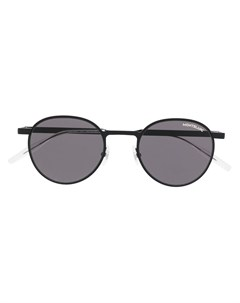 Солнцезащитные очки в круглой оправе Montblanc