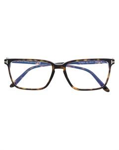 Очки FT5696 B в квадратной оправе Tom ford eyewear