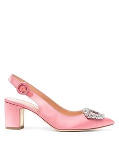 Декорированные туфли с ремешком на пятке Rupert sanderson