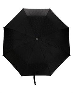 Зонт с цепочкой и декором Skull Alexander mcqueen
