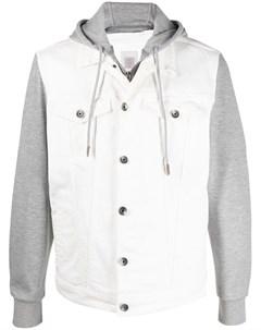 Джинсовая куртка с капюшоном Eleventy