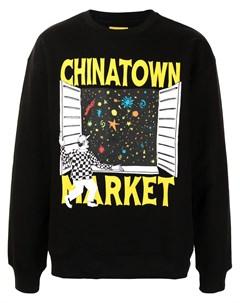 Пуловер с принтом Window Chinatown market