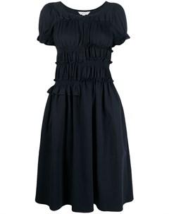 Платье с короткими рукавами и оборками Neul