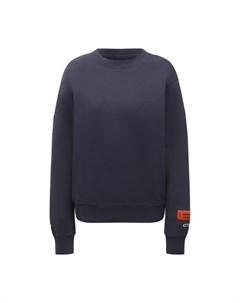 Хлопковый пуловер Heron preston