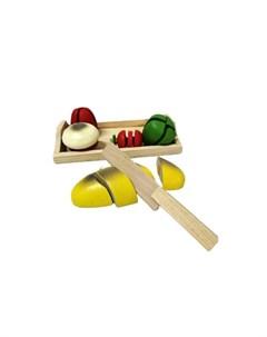 Деревянная игрушка Игровой набор Готовим завтрак Умный ежик