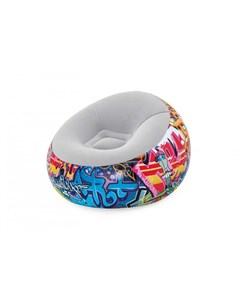 Надувное кресло Inflate A Chair Graffiti Bestway