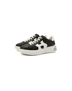 Кожаные кроссовки H562 Hogan