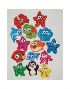Коврик Kids Мини для ванны Морской Супер Микс PK 0047 Pondo