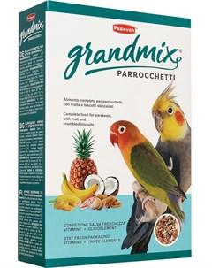 Сухой корм для попугаев Grandmix Parrocchetti комплексный 0 85 кг Padovan