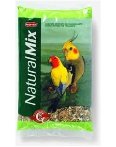 Сухой корм для попугаев Naturalmix parrocchetti основной 0 85 кг Padovan