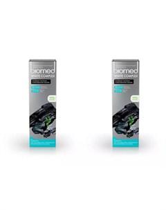Набор Зубная паста BioMed вайткомплекс 100 г 2 штуки Biomed Splat