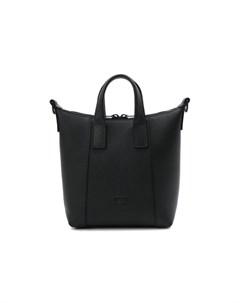 Кожаная сумка тоут Hourglass Balenciaga
