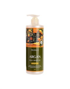 Шампунь для волос Argan Silky Moisture Shampoo 1000 мл Deoproce