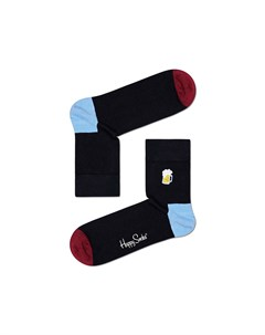 Носки Embroidery Beer Half Crew Sock Happy socks