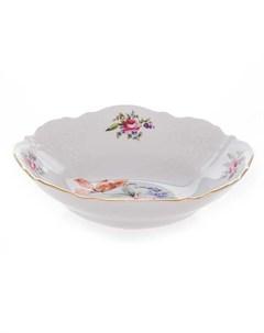 Набор салатников 6 шт 19 см Полевой цветок фарфор Bernadotte