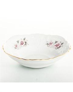 Набор салатников 16 см Серая роза золото 6 шт Bernadotte