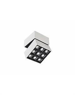 Накладной светодиодный светильник блок питания в комплекте Fara Donolux