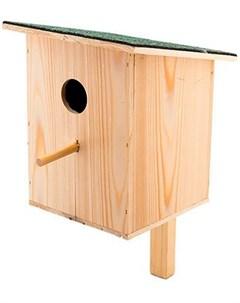 Скворечник своими руками набор для сборки с односкатной крышей средний 37 х 20 х 20 см 1 шт Дарэлл