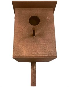 Скворечник Классика фанера морилка 22 5 х 20 х 39 см 1 шт Дарэлл