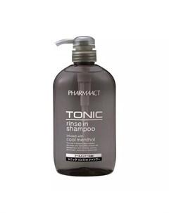 Шампунь тонизирующий 2в1 д мужчин Pharmaact 600 мл Шампуни для волос Kumano cosmetics