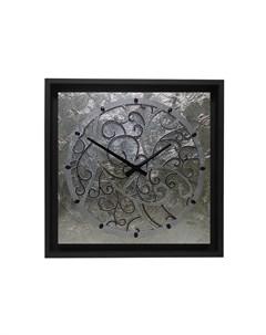 Настенные часы золотой 60x60x4 см Mariarty