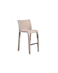 Барный стул орхидея бежевый 59x109x63 см Green garden
