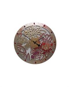 Настенные часы красный Mariarty