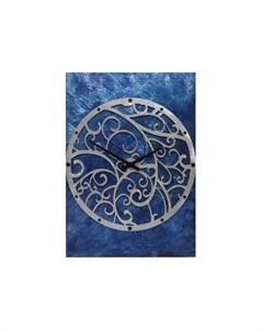 Настенные часы синий 50x70x4 см Mariarty