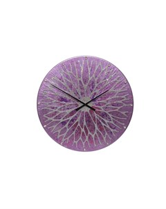 Настенные часы фиолетовый Mariarty