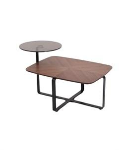 Стол журнальный detroit коричневый 96x55x60 см My interno