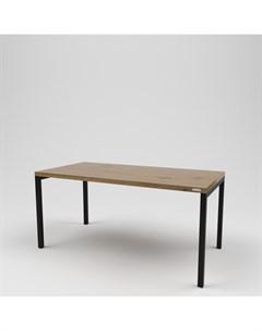 Стол обеденный лофт коричневый 150 0x75 0x80 0 см Kovka object