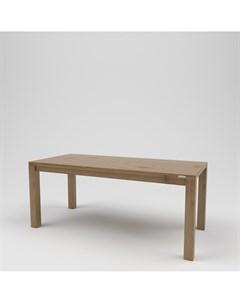 Стол обеденный лофт коричневый 180 0x75 0x80 0 см Kovka object