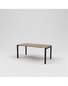 Стол журнальный лофт коричневый 100 0x45 0x50 0 см Kovka object