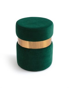 Пуф luxore зеленый 43 см Laredoute