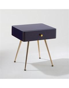 Тумба прикроватная topim фиолетовый 38x42x33 см Laredoute