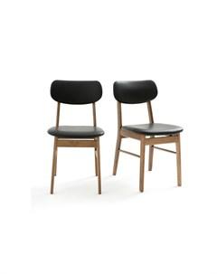 Набор стульев watford черный 43x81x55 см Laredoute