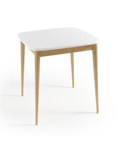 Обеденный стол jimi белый 70x75x70 см Laredoute